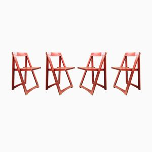 Folding Chairs by Aldo Jacober, 1960s, Set of 4