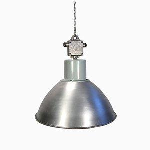 Lámpara colgante industrial de aluminio de Elektrosvit, años 60