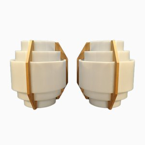 V211 Sconces by Hans-Agne Jakobsson, 1960s, Set of 2