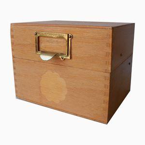 Archivbox aus Holz von Hans-Agne Jakobsson, 1960er