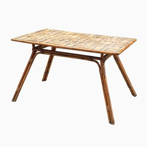 Tavolo da pranzo Mid-Century di Adrien Audoux e Freda Minet, anni '60