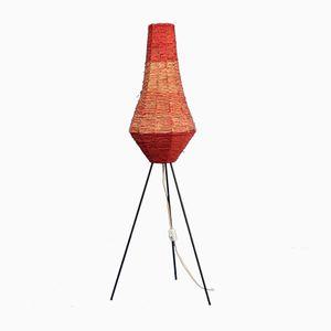 Lámpara de pie trípode, años 60