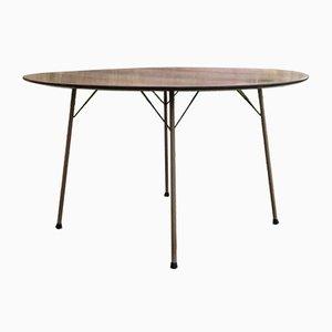 Palisander Dining Table by Arne Jacobsen for Fritz Hansen, 1950s