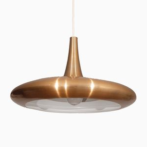 Vintage Danish Copper Pendant Lamp