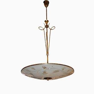 Lampada da soffitto Mid-Century, Italia