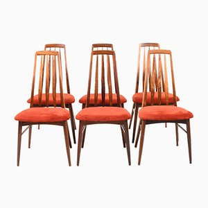 Rosewood Dining Chairs by Niels Koefoed for Koefoeds Hornslet, 1960s, Set of 6