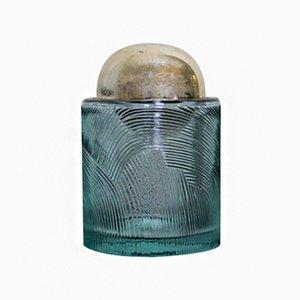Portasigarette vintage in cristallo di Sergio Asti per Arnolfo Di Cambio