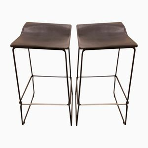 Vintage Bar Stools by Patricia Urquiola for Viccarbe, Set of 2