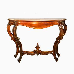 Louis Philippe Rosewood Console, 1860s
