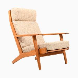 Mid-Century Sessel mit Gestell aus Teak von Hans J. Wegner für Getama