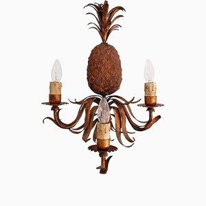 Mid-Century Italian Pineapple Sconce, 1950s