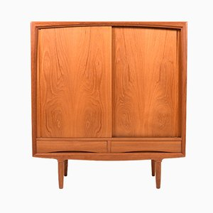 Vintage Danish Teak Highboard by from ACO