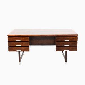 Vintage Model EP 401 Freestanding Desk by Kai Kristiansen for Feldballes Møbelfabrik