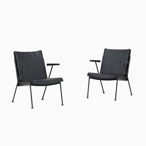 Easy Chairs by Wim Rietveld for Ahrend de Circkel, 1960s, Set of 2