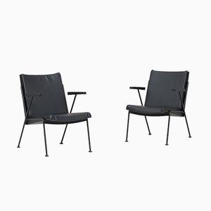 Sessel von Wim Rietveld für Ahrend de Circkel, 1960er, 2er Set