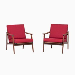 Dänische Sessel, 1960er, 2er Set
