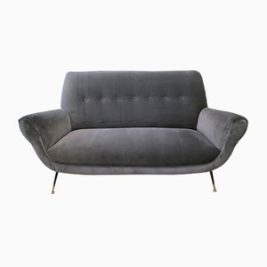 Mid-Century Italian Sofa by Gigi Radice for Minotti