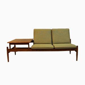 Modulares Saga Sofa mit integriertem Tisch von Gunnar Sørlie, 1950er