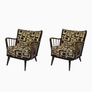 Vintage Easy Chairs, 1950s, Set of 2