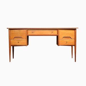 Cómoda o escritorio Mid-Century de nogal de A. Younger
