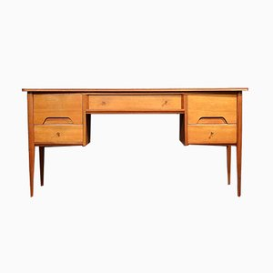 Mid-Century Walnut Desk or Dresser from A. Younger