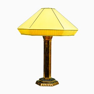 Large Art Deco Austrian Table Lamp, 1920s