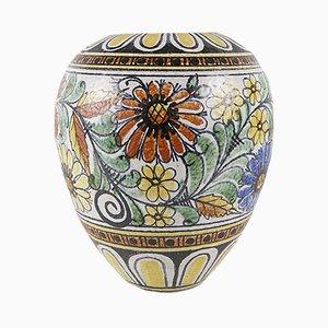 Keramikvase von Cilli Wörsdörfer für Ruscha, 1950er