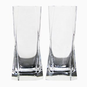 Cibi Long Drink Glasses by Cini Boeri for Arnolfo Di Cambio, 1970s, Set of 2