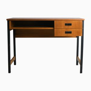 Danish Desk on Steel Legs, 1970s
