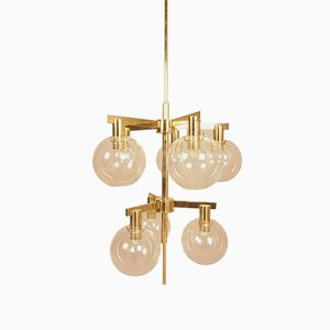 Pastoral T348/8 Chandelier by Hans Agne Jakobson, 1960s