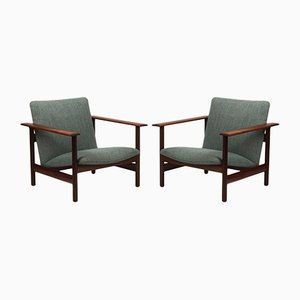 Armchairs from Steiner, 1960s, Set of 2