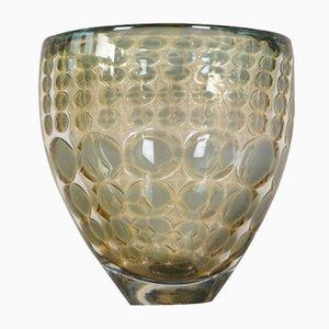 Vase par Ingeborg Lundin pour Orrefors, 1969