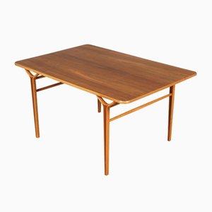 Tavolino da caffè di Peter Hvidt e Orla Mølgaard-Nielsen per Fritz Hansen, anni '50