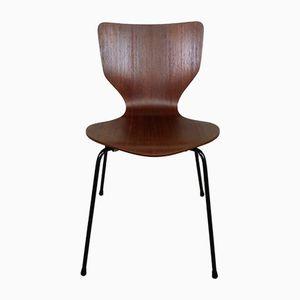 Dänischer Vintage Stuhl aus Teak, 1960er