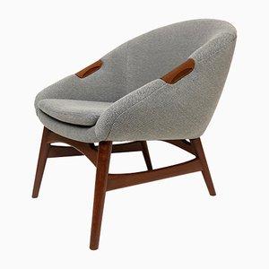Sessel aus Teak von Erling Torvits für Dana Fredericia, 1950er