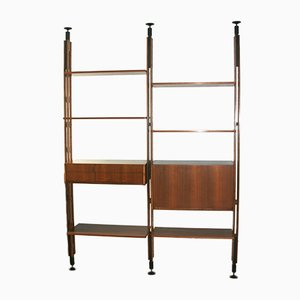 Lb7 Freestanding Bookcase by Franco Albini for Poggi, 1960s