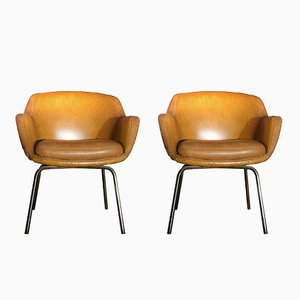 Mid-Century Italian Armchairs, 1964, Set of 2