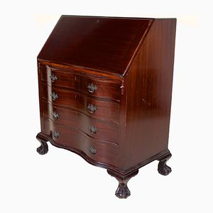 Antique Writing Desk in Mahogany