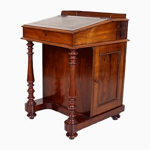 Antique Victorian Mahogany Desk from Davenport