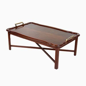 Large Vintage Extending Mahogany Coffee Table, 1960s