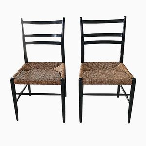 Swedish Gracell Chairs by Yngve Ekström for Gemla, 1950s, Set of 2