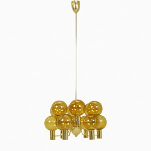 Vintage T372/12 Patricia Chandelier by Hans Agne Jakobsson, 1955