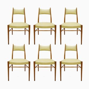 Mid-Century Austrian Dining Chairs, 1950s, Set of 6