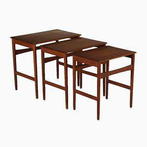 Nesting Tables by Hans J. Wegner for Andreas Tuck, 1960s