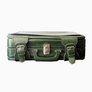 Vintage Green Suitcase, 1970s