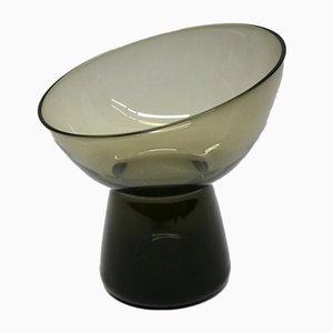 Dekorative Vintage Schale aus Turmalin & Rauchglas von Wilhelm Wagenfeld für WMF