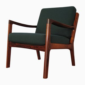 Senator Chair in Rosewood by Ole Wanscher for France & Son, 1960s