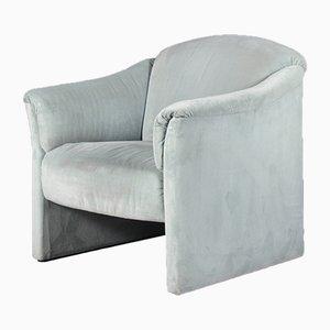 Minzgrüner Sessel von Walter Knoll, 1980er