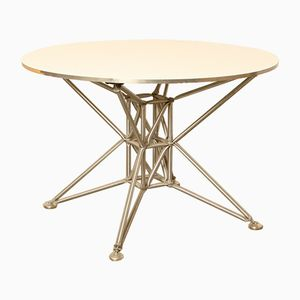 Round Vintage Lunar S Table by Jürg Steiner & Dirk Uptmoor for System 180