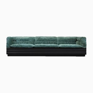 Vintage Italian 3-Seater Lounge Sofa by Giovanni Offredi for Saporiti
